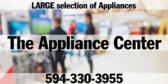 Large Selection of Appliances, Generic Store Name