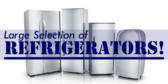 Large Selection of Refrigerators