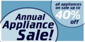 Annual Appliance Sale