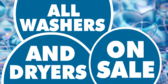Washer and Dryer On Sale