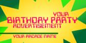 Generic Arcade, Generic Birthday
