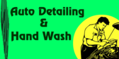 Auto Detailing and hand wash