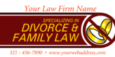 Family Law and Divorce Generic Law Firm