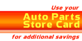 Auto Parts Store Card