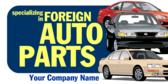 Auto Parts Generic Foreign Auto Parts