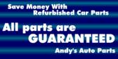 Refurbished Car Parts Store