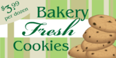Bakery Fresh Cookies