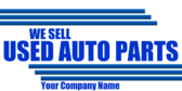 Used Auto Parts Store Generic
