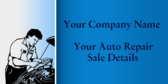Your Auto Repair Sale