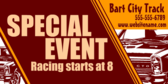 Race Track Special Event