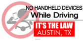 No Handheld Devices While Driving