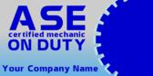 Certified Mechanic On Duty