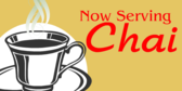 Now Serving Chai