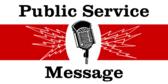 Public Service Message