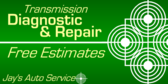 Transmission Diagnostic and Repair