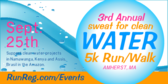 Sweat for Clean Water 5k