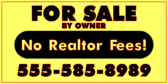 No Realtor Fees