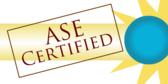 auto repair ase certified signs