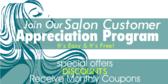 Customer Appreciation Beauty Salon