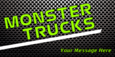 Monster Trucks Name