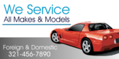 We Service All Makes  Models