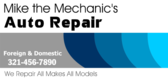 Mechanic Auto Repair
