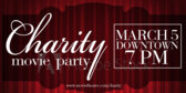 Charity Movie Party