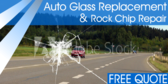 Auto Glass Replacement Rock Chip Repair