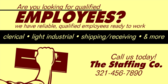 Looking for Qualified Employees