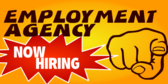 Employment Agency Now Hiring point