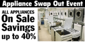 Appliance Swap Out Event