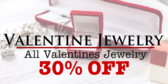 30% Off Valentine Jewelry Banner