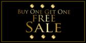 Buy 1 Get 1 Free Sale