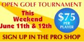 Open Golf Tournament