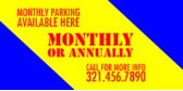 Monthly Parking  Available Here