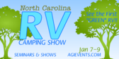 RV Camping Show Trees