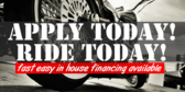 Apply Today Ride Today