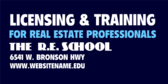 Licensing & Training for Real Estate Professionals