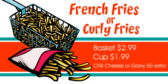 French Fries Or Curly Fries