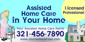 Assisted Home Care in Your Home