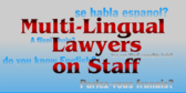 Multi-lingual Attorney