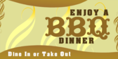 Enjoy a BBQ Dinner