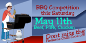 BBQ Competition this Saturday