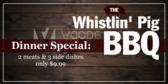 BBQ Dinner Special