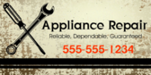 Reliable Dependable Guaranteed Appliance Repair