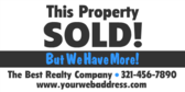 Property Sold! Grey with Photo
