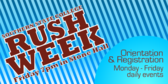 College Rush Week
