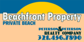 Private Beach Real Estate Specialized