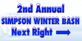 Simpson Winter Bash