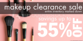 Makeup Clearnance Sale